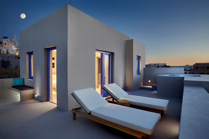 Luxury Studio Villa in Santorini (NEW) - Pirgos Kallistis - Vila