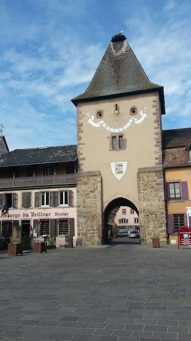 La porte du Brandt à l'entrée du village