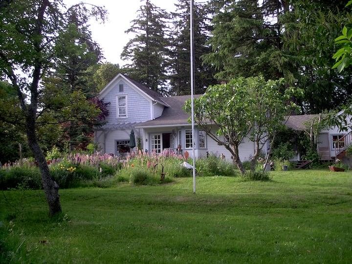Farmhouse with Llama and Gardens