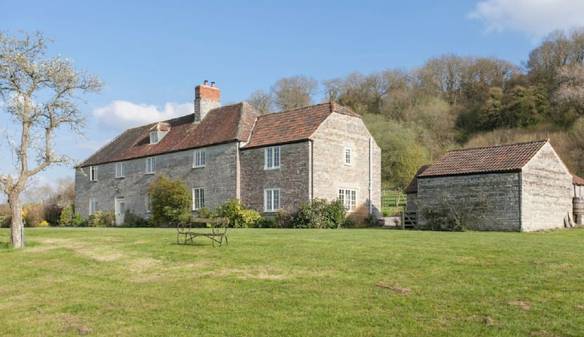 Stunning Somerset Farmhouse - Pitney - Hus