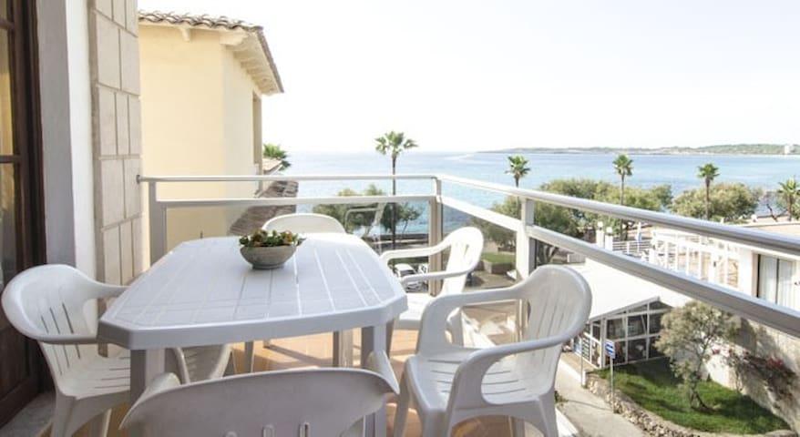 Apartment T3 balcony, seaview,wifi,