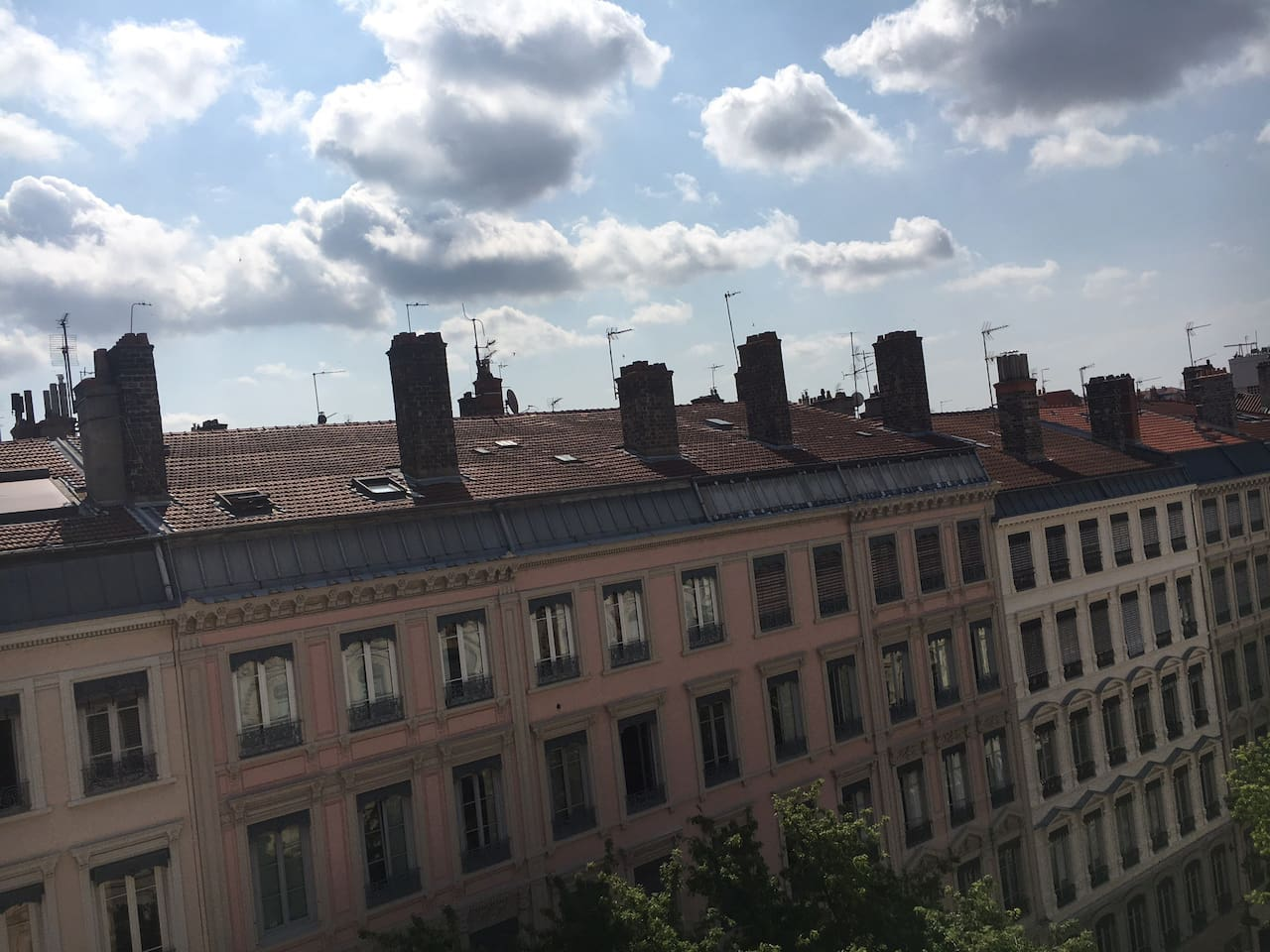 """Big apart in the heart of the """"Presqu'île"""" of Lyon"""