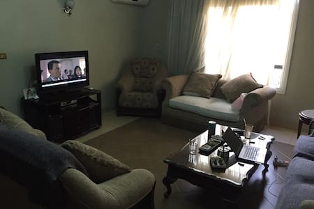The appt in sunny and very clean. Just 2 blocks from the famous tahrir square, you are in the city center but in the best possible location between the consulates and embassies that creates a quiet and safe atmosphere in the evenings. Enjoy the vibrant city of cairo !