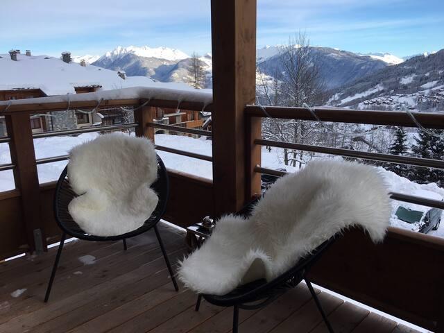 Superbe Appart 6 pers Ski-in/Ski-out proche centre
