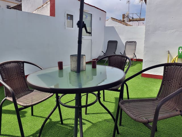 APARTMENT IN THE OLD TOWN CORDOBA. FREE PARKING & TERRACE AL2