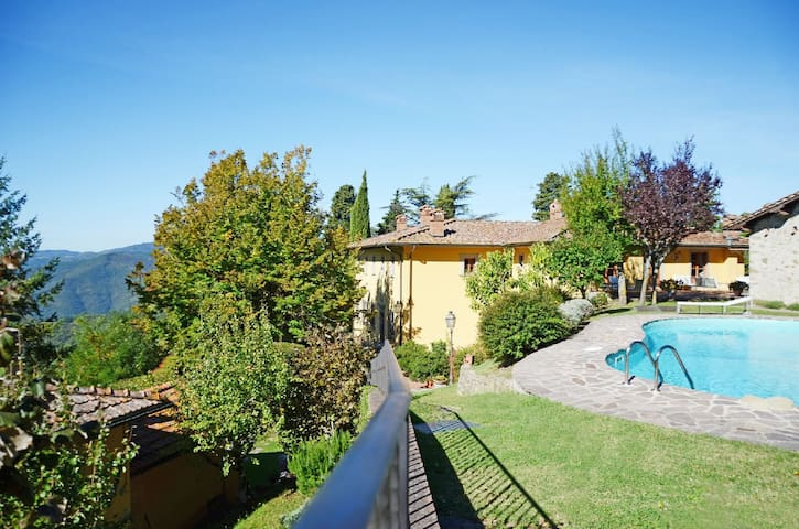 Historical Villa for large group - Firenze - House