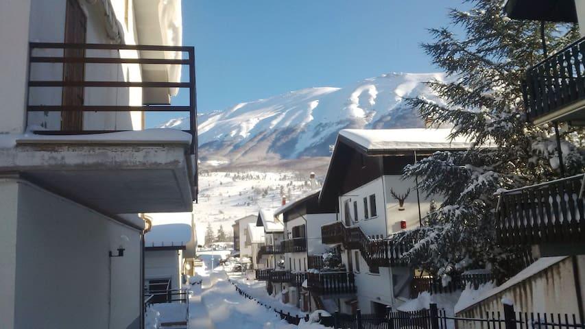 Tranquilla casa in montagna - Campo di Giove - Byt