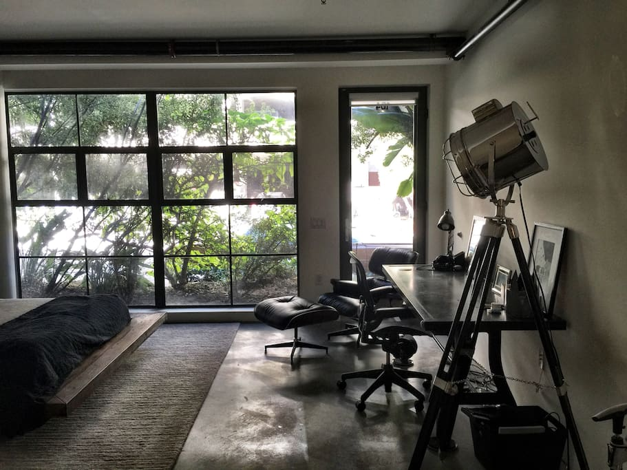 Silicon beach live work loft lofts for rent in marina for Marina del rey living