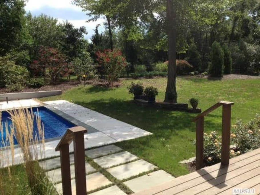 partial view/backyard