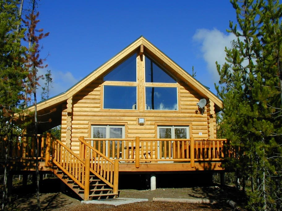 Two bedroom island park cabin cabins for rent in island for Two bedroom cabins