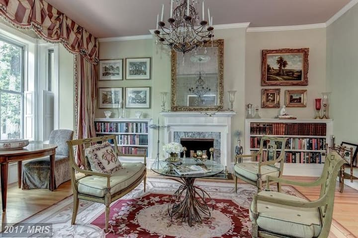 Luxurious townhouse on Great Dupont Circle Street