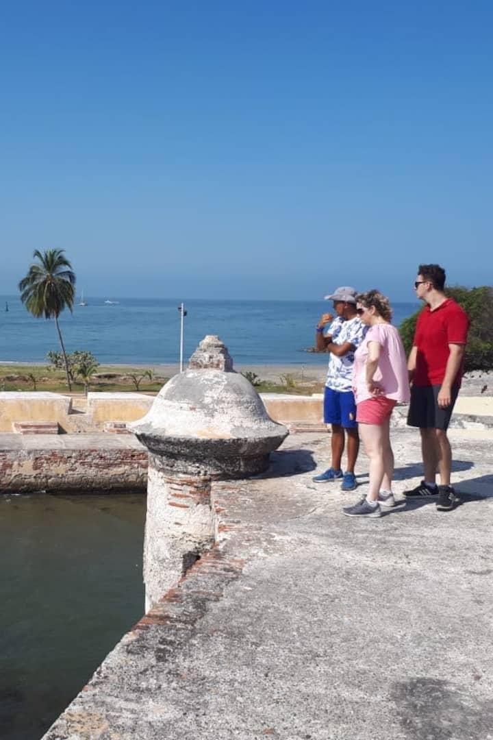 Fuerte De San Fernando en la Isla de Tierrabomba