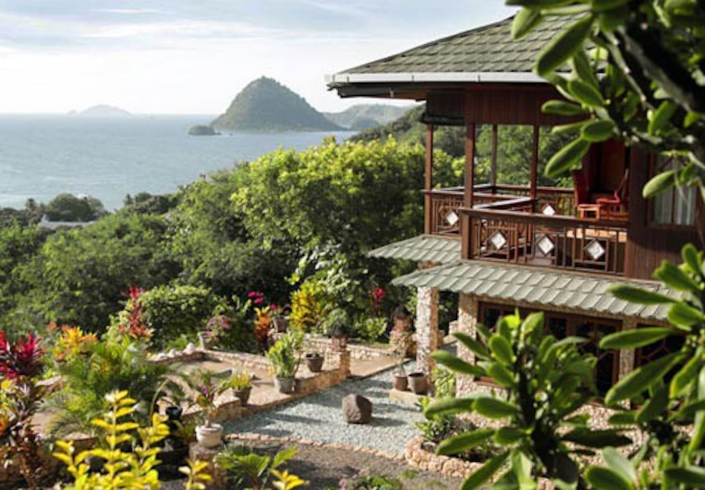 Villa with view