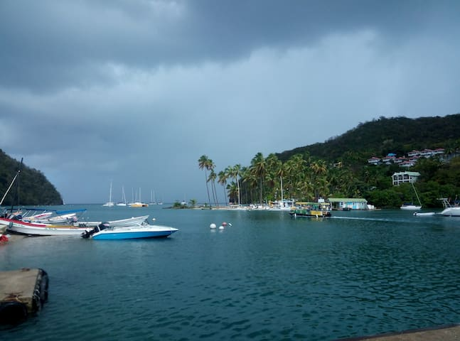 Marigot Bay Marina Apartment 6a.