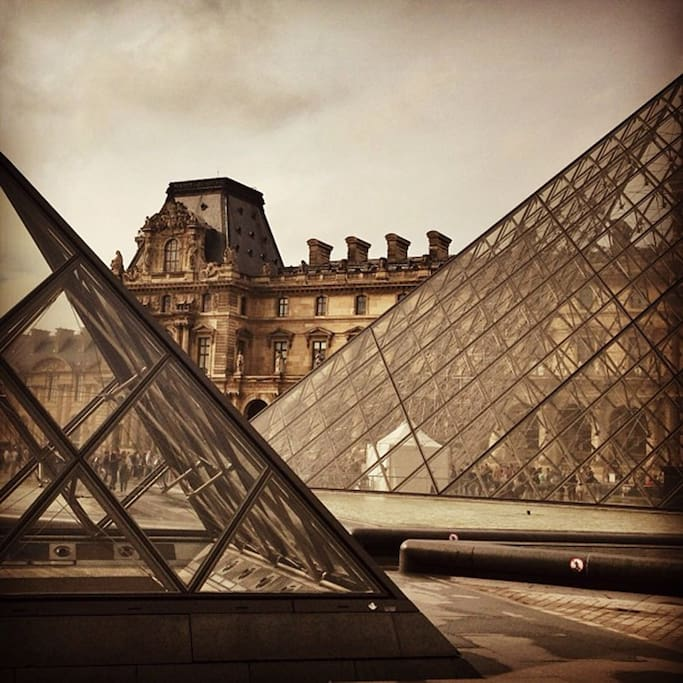 Photo of Louvre Museum in Le Louvre
