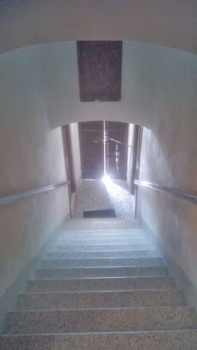 ingresso alla camera