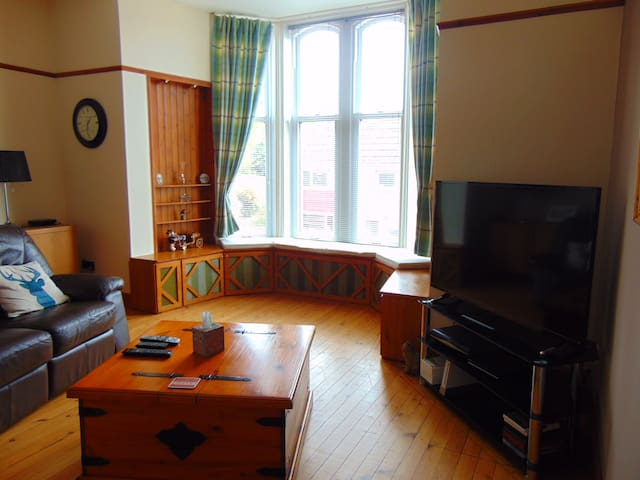 Homely ground floor flat in Forfar,Angus