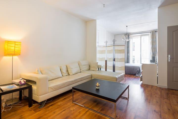 bel appartement 40 m2 proche presqu'île