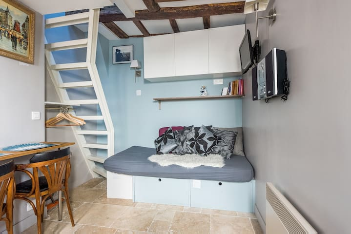 Super cosy loft Great Marais!