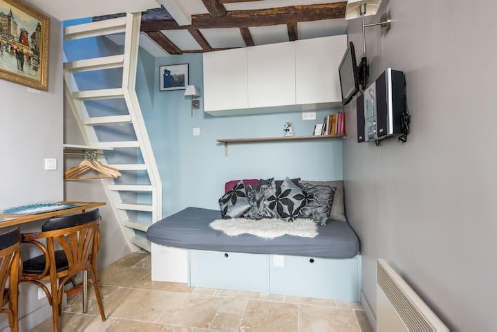 Super cosy loft Great Marais!