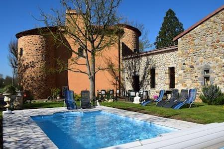 B&B Le Château des Aiguilles - Saint-Rémy-de-Chargnat - Şato