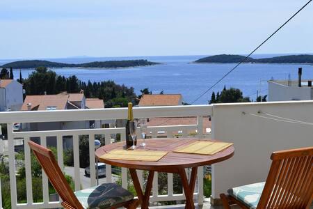 Guest House Novak, amazing view 4 - Хвар - Квартира