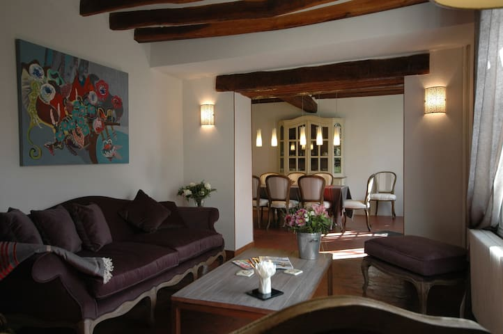 lovely house, garden and parking - Saint-Ouen-sur-Morin - Bed & Breakfast