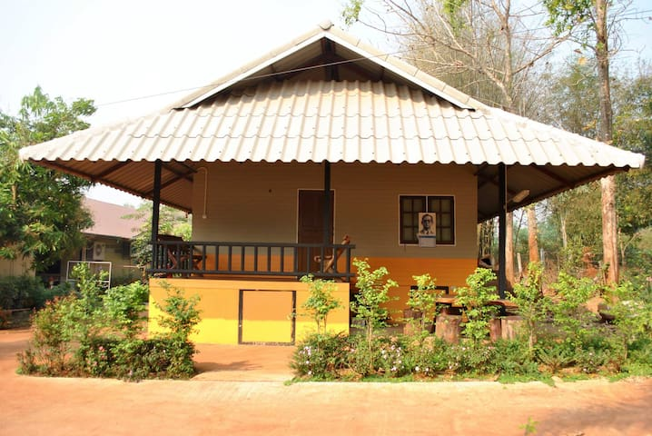 308 Organic Farm Home Stay - Mae Khao Tom - Bed & Breakfast