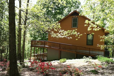 Private woodland home just off Rt60 - Lanexa - Casa