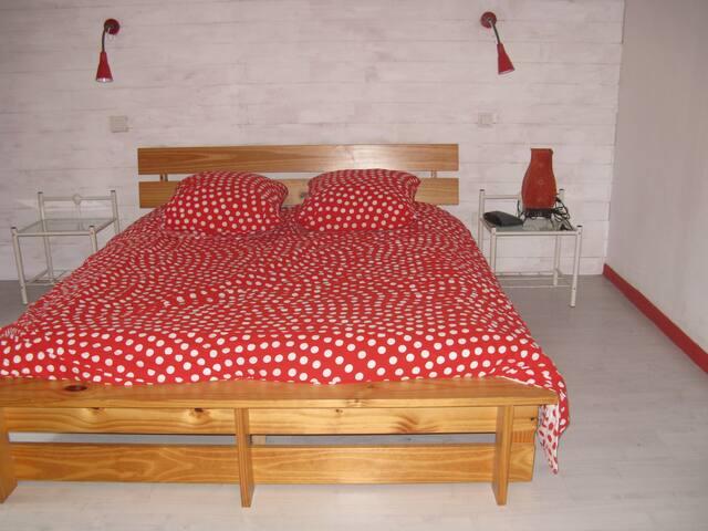 chambre lit double 16m2