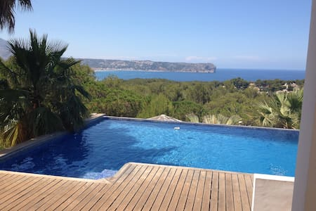 Villa in javea with seasight views - Jávea - Chalé