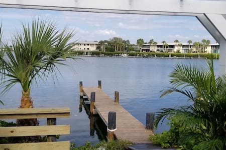 Waterfront home with private dock