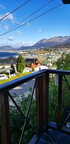 Habitación c/vista a la bahía en Mirador Fernández