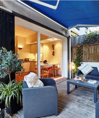 Nice Centre: Superb flat with parking+terrasse