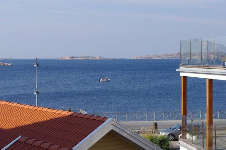 Lägenhet med havsutsikt i Lysekil