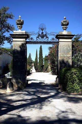 Charmant appartement domaine viticole avec piscine