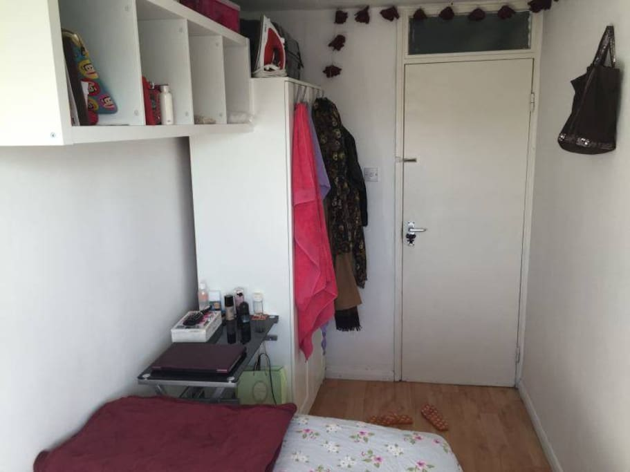 Your room other side + tons extra storage in hallway if you like