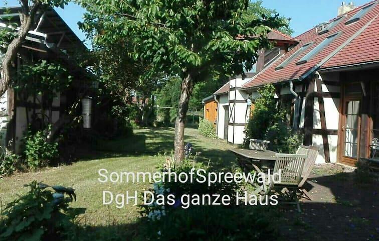 """HA Sommerhof Gruppe: """"Großes Haus"""" (20 Pers.)"""