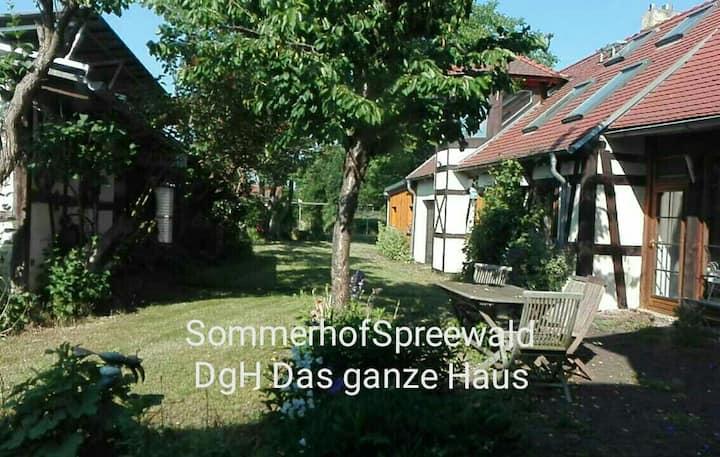 Sommerhof HA : Großes Haus (4+2+2+2+2+3+3+x Pers.)