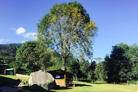 Cabaña de descanso en Parque de Aventura Ecocenter - Tena - Hus