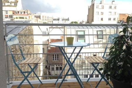 Lovely Studio in Paris Eiffel Tower - Paris - Apartment