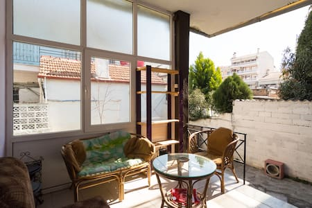Sofia's House - Quiet and Private - Serres - Huis