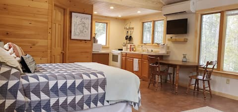 Hemlock Cabin.