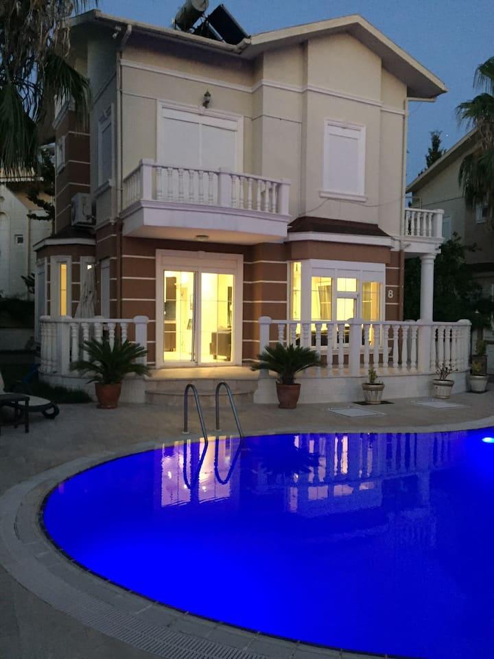 Great private Detached villa in Belek no 8