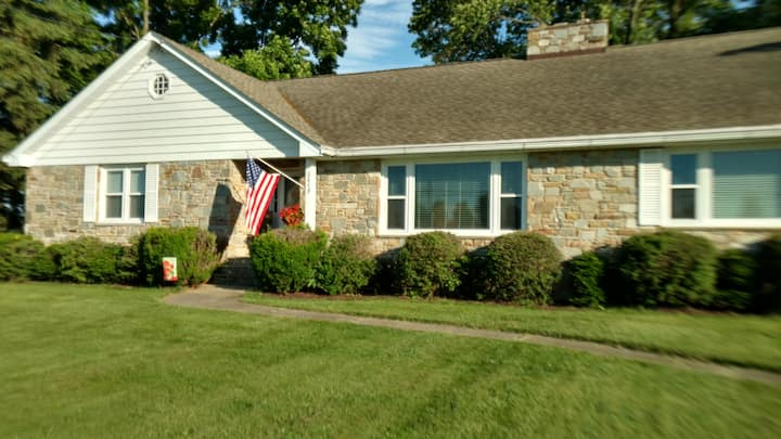 Stone  House  close to APG, HavreDe Grace & Belair