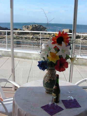 Terrasse panoramique sur la baie ...