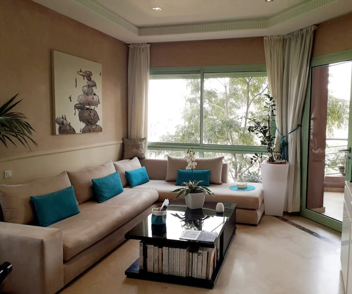 Appartement  raffiné avec piscine Marrakech