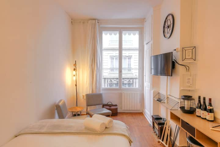 MODERN STUDIO -  PLACE GUICHARD IN CENTRAL LYON