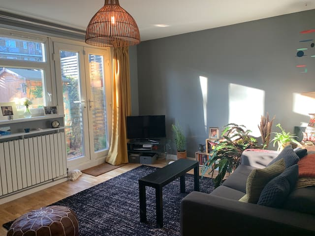 Lovely flat close to Brixton with garden patio