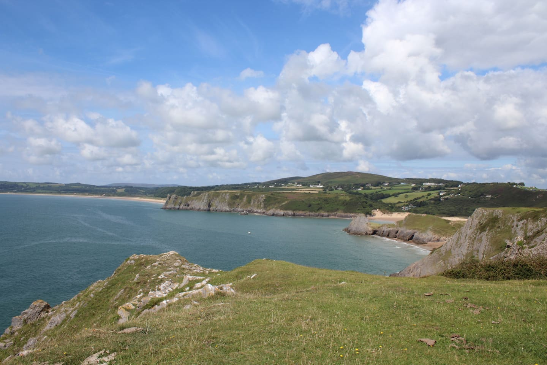 View of Three Cliffs